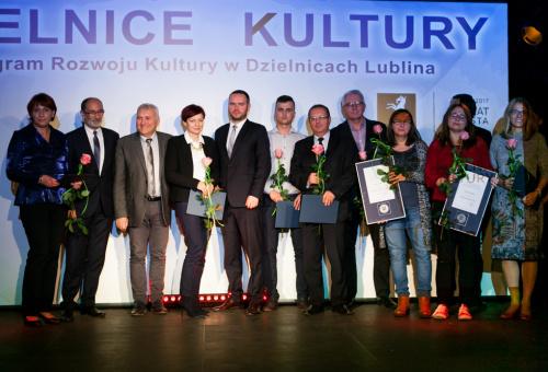 Jubileuszowa Gala Dzielnic Kultury