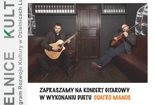 Koncert zespołu Cuatro manos