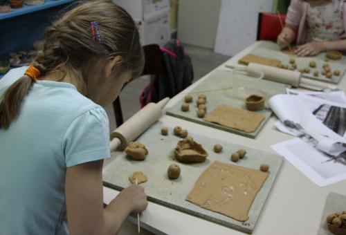 Warsztaty ceramiki dla dzieci