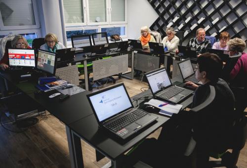Warsztaty komputerowe dla seniorów