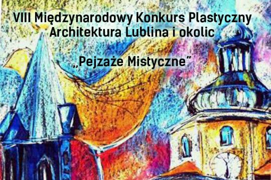 Baner promujący konkurs, organizowany przez Szkołę Podstawową nr 25 w Lublinie, którego dom kultury jest współorganizatorem.