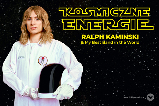 Baner promujący koncert Ralpha Kaminskiego w Lublinie