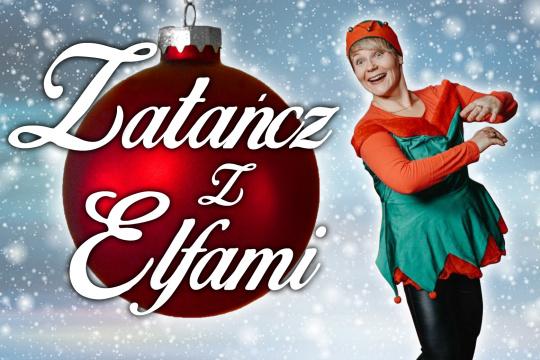 Baner promujący zapisy na świąteczne warsztaty taneczne