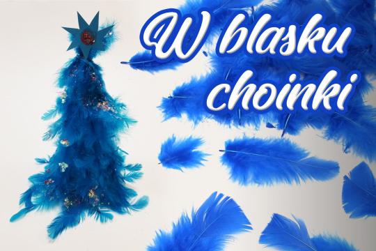 Baner promujący zapisy na warsztaty tworzenia ozdób świątecznych