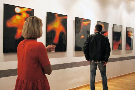 Wystawa grafiki Agnieszki Chęć-Małyszek