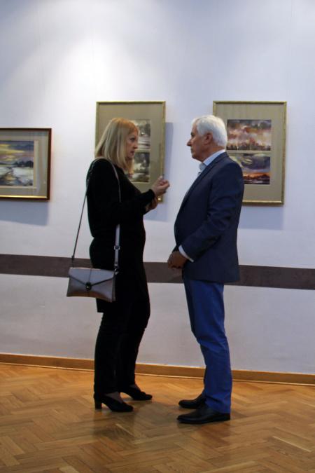 Wystawa malarstwa Mieczysława Maławskiego