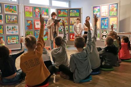 Wystawa prac plastycznych uczniów ze Szkoły Podstawowej nr 31 w Lublinie