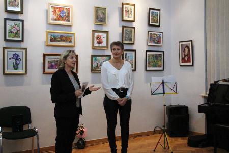 Wystawa malarstwa Anny Lepak