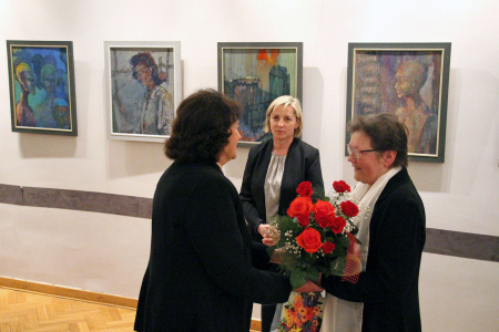 Wystawa malarstwa Hanny Gralak