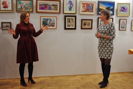 Wystawa akwareli Anny Lepak