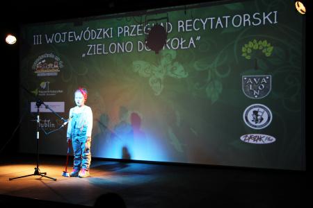 """III Wojewódzki Przegląd Recytatorski """"Zielono dokoła"""" - 14.04.2016"""