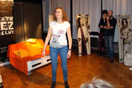 Spektakl Teatru Impro Bezczelni