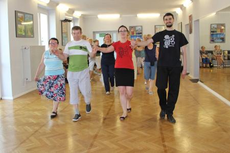 Tanecznym krokiem ku wolności - warsztaty
