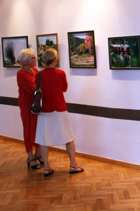 Wystawa Malarstwa Elżbiety Osypiuk