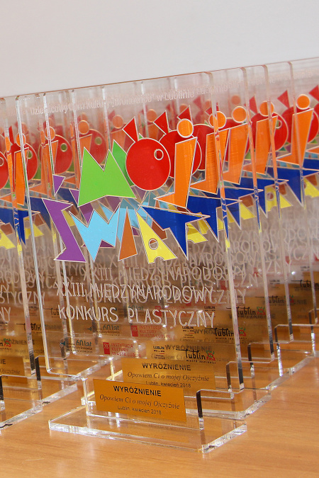 """Wystawa pokonkursowa XXIII Międzynarodowego Konkursu Plastycznego """"Mój Świat"""""""