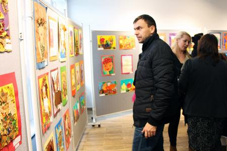 Wystawa prac plastycznych uczniów Zespołu Szkół nr 9 w Lublinie