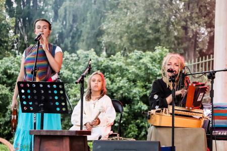 Kulturalny plener w dzielnicy Kośminek