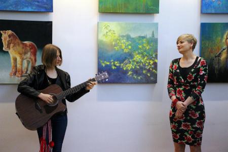 Wystawa malarstwa Anny Celińskiej-Banaszek