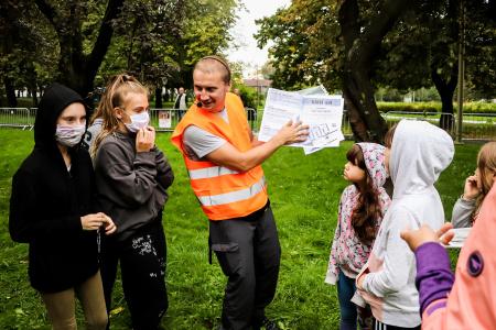 #NaTropieNiepodległej w dzielnicy Tatary
