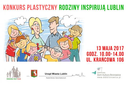 """Konkurs """"Rodziny inspirują Lublin"""""""