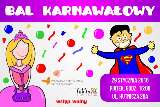 Bal Karnawałowy w PK Tatary