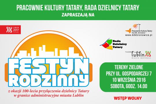 100- lecie włączenia Tatar w granice administracyjne Miasta Lublin