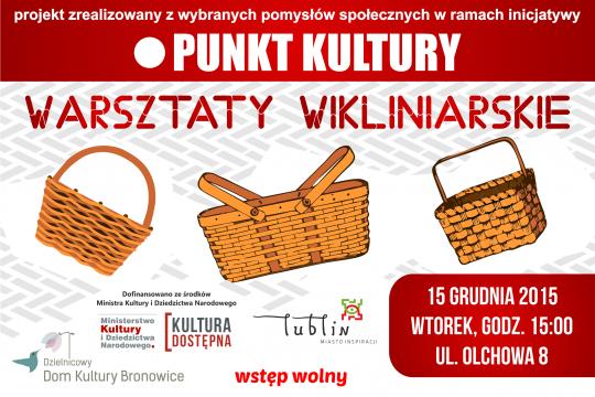 Warsztaty Wikliniarskie