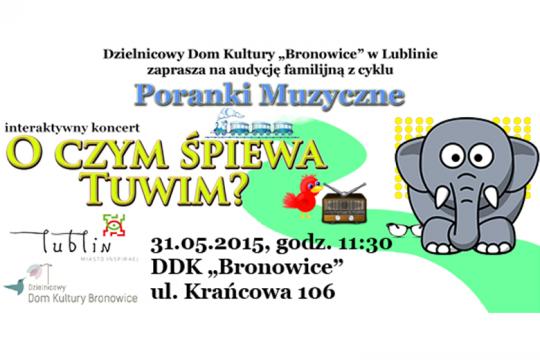Poranek Muzyczny - 31.05.2015