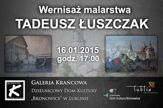 Wernisaż wystawy - 16.01.2015