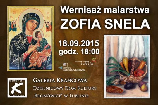 Zofia Snela - wernisaż wystawy