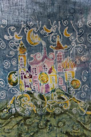 Wystawa batików Pracowni Projektu