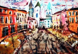 """Wystawa """"Lublin. Projekt karty pocztowej"""""""