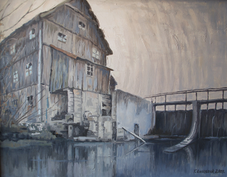 Wystawa Malarstwa Tadeusza Łuszczaka