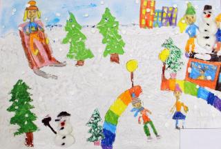 Wystawa prac plastycznych dzieci z Przedszkola nr 31 w Lublinie
