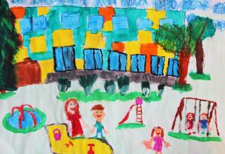Wystawa prac plastycznych dzieci z Przedszkola nr 7 w Lublinie