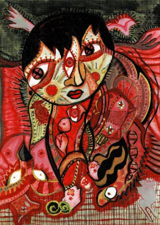 Wystawa rysunku i malarstwa Natalii Kowalskiej